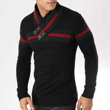 Pull Col Amplified 24 Noir
