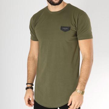Tee Shirt Oversize Core Vert Kaki