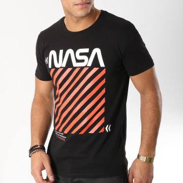 NASA - Tee Shirt Caution Noir