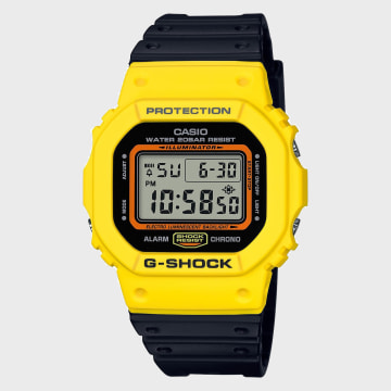 G-Shock - Montre G-Shock DW-5600TB-1ER Noir Jaune