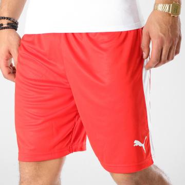 Puma - Short Jogging Liga 703431 Rouge