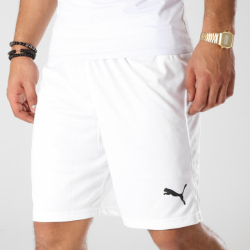 Puma - Short Jogging Liga Core 703436 Blanc