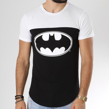 Tee Shirt Oversize Logo Noir Blanc
