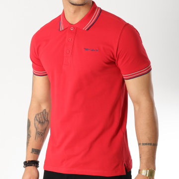 Polo Manches Courtes Pasian Rouge