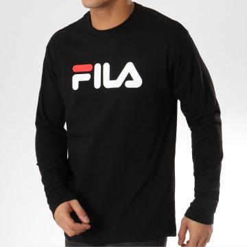 Fila - Tee Shirt Manches Longues Classic Pure 681092 Noir