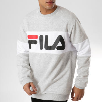 Sweat Crewneck Straight Block 681255 Gris Chiné