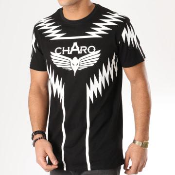 Charo - Tee Shirt Heatwave Noir Blanc