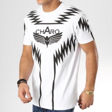 Charo - Tee Shirt Heatwave Blanc Noir