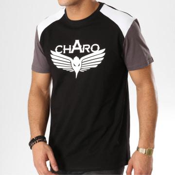 Charo - Tee Shirt Beamer WY4240 Noir Blanc Gris