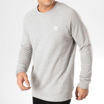 Adidas Originals - Sweat Crewneck Essential DV1642 Gris Chiné
