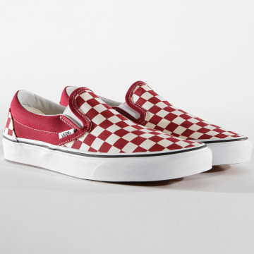 Baskets Classic Slip-On A38F7VLW1 Rumba Red