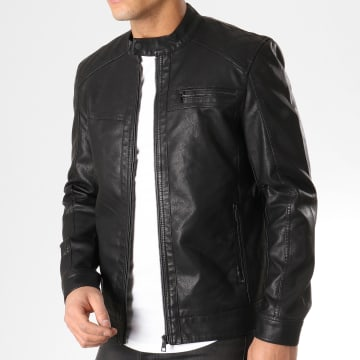 Only And Sons - Veste Biker Al Noir