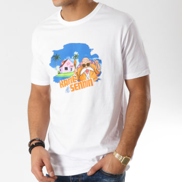 Tee Shirt Tortue Géniale 529 Blanc
