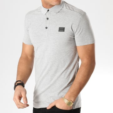 Antony Morato - Polo Manches Courtes MMKS01419 Gris Chiné