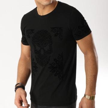 Tee Shirt Bandana TSJB004-3 Noir
