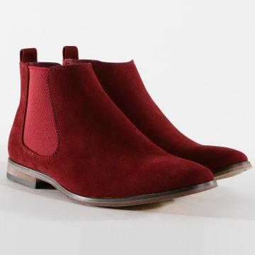 Chelsea Boots GH3026 Burgundy