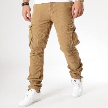Le Temps Des Cerises - Pantalon Cargo Mirado Camel