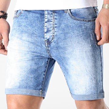Short Jean LB054-B4 Bleu Medium