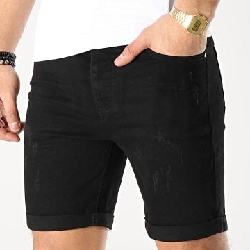 LBO - Short Jean LB054-B8 Noir