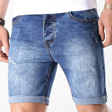 Short Jean LB054-B12 Bleu Medium