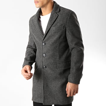 Manteau 1210 Gris Anthracite Chiné
