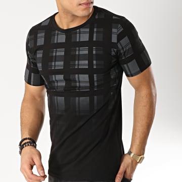 Tee Shirt JAK-092A Noir Gris