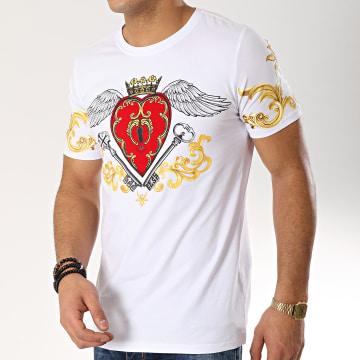 Tee Shirt JAK-087 Blanc Renaissance