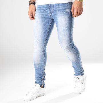 Jean Skinny 66034 Bleu Denim