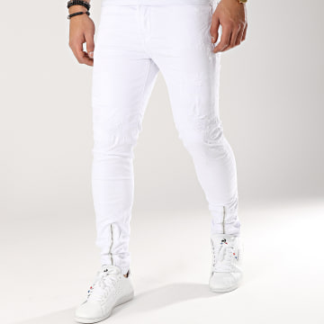 Jean Skinny 72278 Blanc