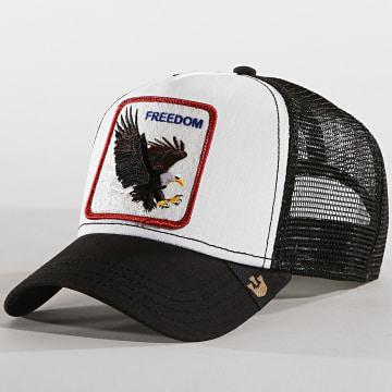 Goorin Bros - Casquette Trucker Freedom Noir Blanc