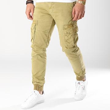 Pantalon Cargo T13016 Vert Kaki