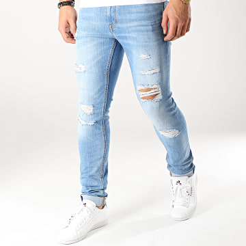 Jack And Jones - Jean Skinny Liam Original Bleu Denim