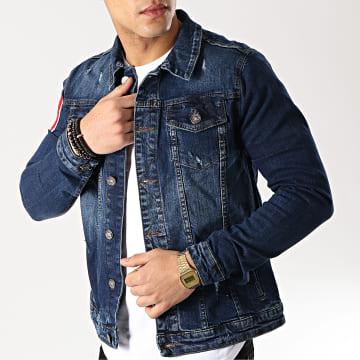 Uniplay - Veste Jean 5017 Bleu Denim
