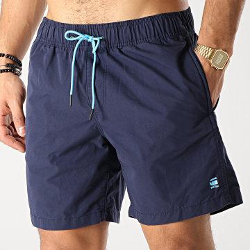 Short De Bain Dirik D13966-7658 Bleu Marine