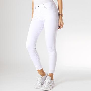 Girls Only - Jean Slim Femme A2010 Blanc