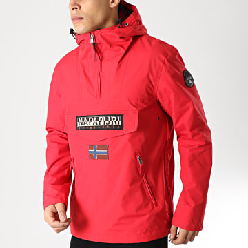Napapijri - Veste Outdoor Rainforest N0YIJN Rouge