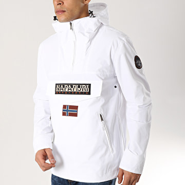Napapijri - Veste Outdoor Rainforest N0YIJN Blanc
