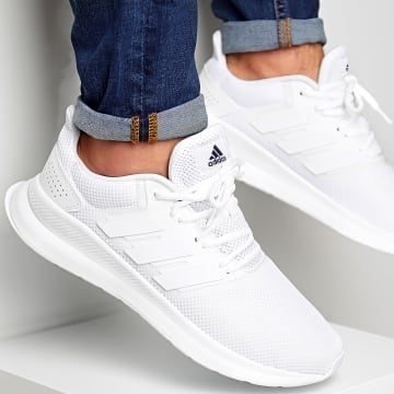 Adidas Originals - Baskets Runfalcon G28971 Footwear White Core White