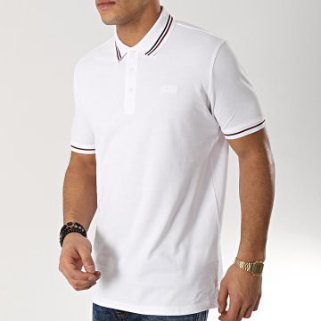 HUGO by Hugo Boss - Polo Manches Courtes Daruso 50404292 Blanc