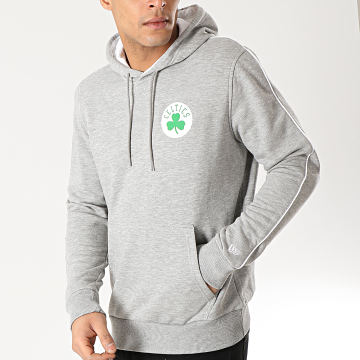 Sweat Capuche Boston Celtics Stripe Piping 1860100 Gris Chiné