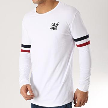 SikSilk - Tee Shirt Manches Longues 13570 Blanc