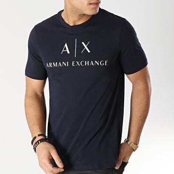 Tee Shirt 8NZTCJ-Z8H4Z Bleu Marine