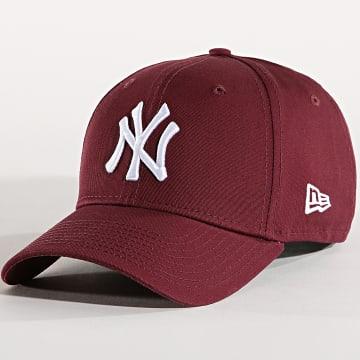 New Era - Casquette League Essential 940 New York Yankees 80337643 Bordeaux