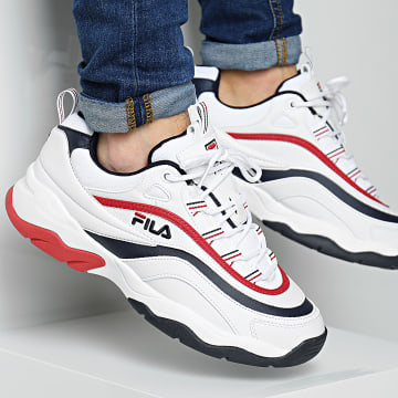 Baskets Ray F Low 1010578 01M White Navy Red