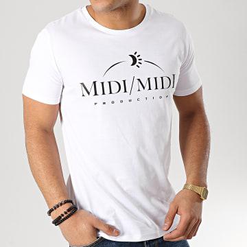 Tee Shirt Midi Midi Blanc