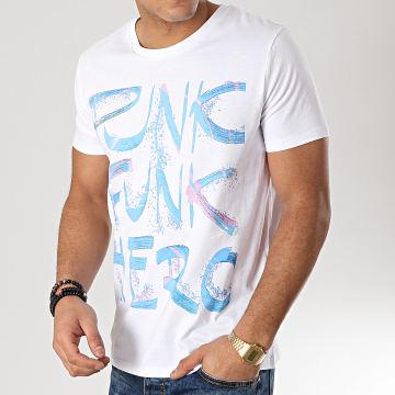 Tee Shirt Punk Funk Hero Blanc