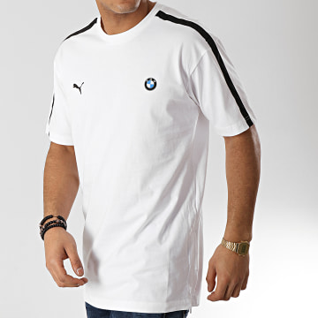 Tee Shirt A Bandes BMW Motorsport Lite 577780 Blanc