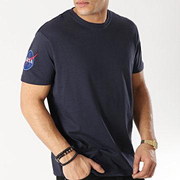 Alpha Industries - Tee Shirt Nasa 176506 Bleu Marine
