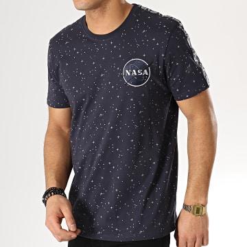 Tee Shirt NASA Tape Bleu Marine