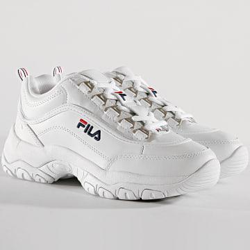 Fila - Baskets Femme Strada Low 1010560 1FG White